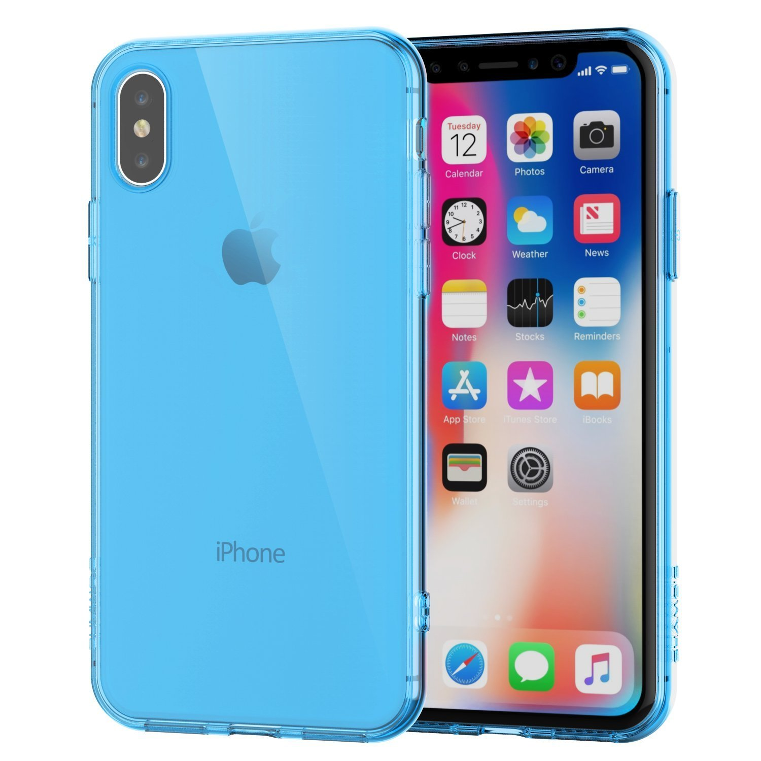 coque paillete iphone x