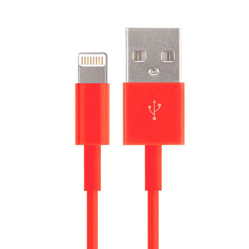 cable-lightning-iphone-rouge