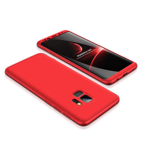 coque 360 samsung s9 rouge