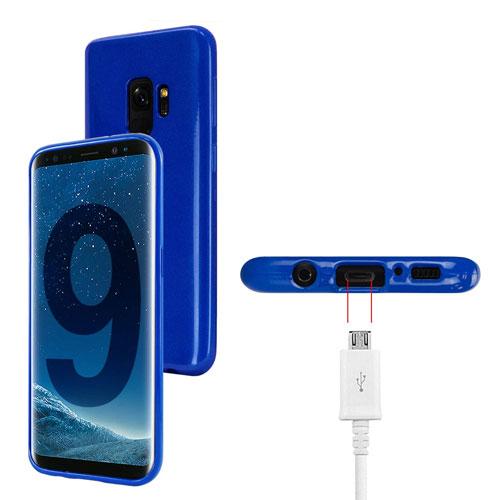 coque-samsung-s9-silicone-bleu-2