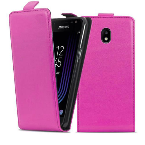 housse-a-clapet-samsung-galaxy-j3-2017-rose-1