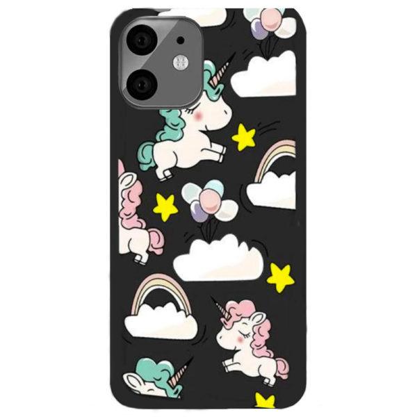 coque-iphone-11-nuage-et-licorne